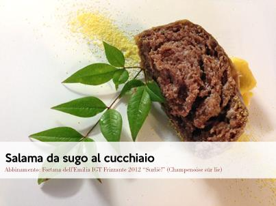 "Two specialities from Ferrara: ""Salama da sugo"" and Eel"